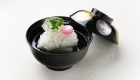 Openning seasonal seafood and vegetables dish /京都松荣旅馆