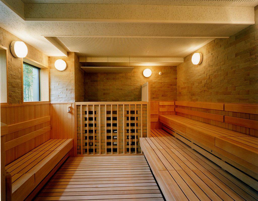 Sauna / Kyoto Ryokan Shoei
