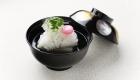 Openning seasonal seafood and vegetables dish / Kyoto Ryokan Shoei