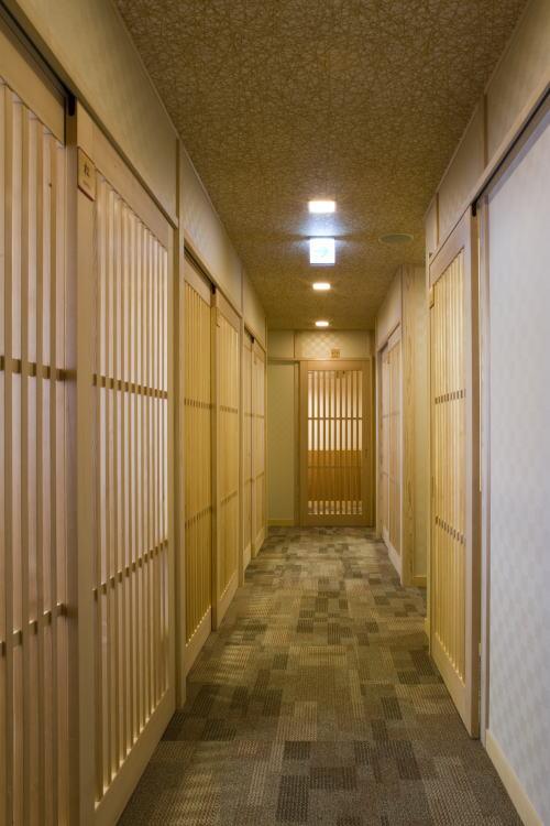 錦小路 廊下 / 京都 旅館 松栄