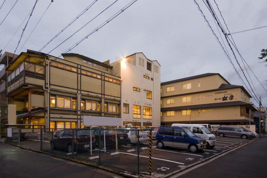 駐車場 / 京都 旅館 松栄