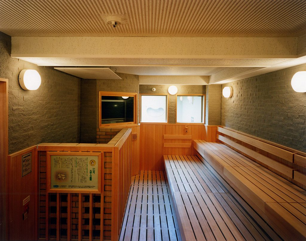 サウナ2 / 京都 旅館 松栄