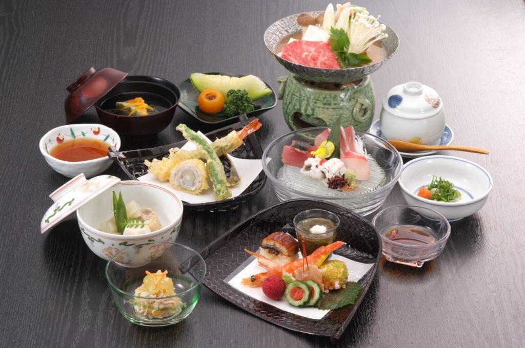 夏の京会席料理 / 京都 旅館 松栄