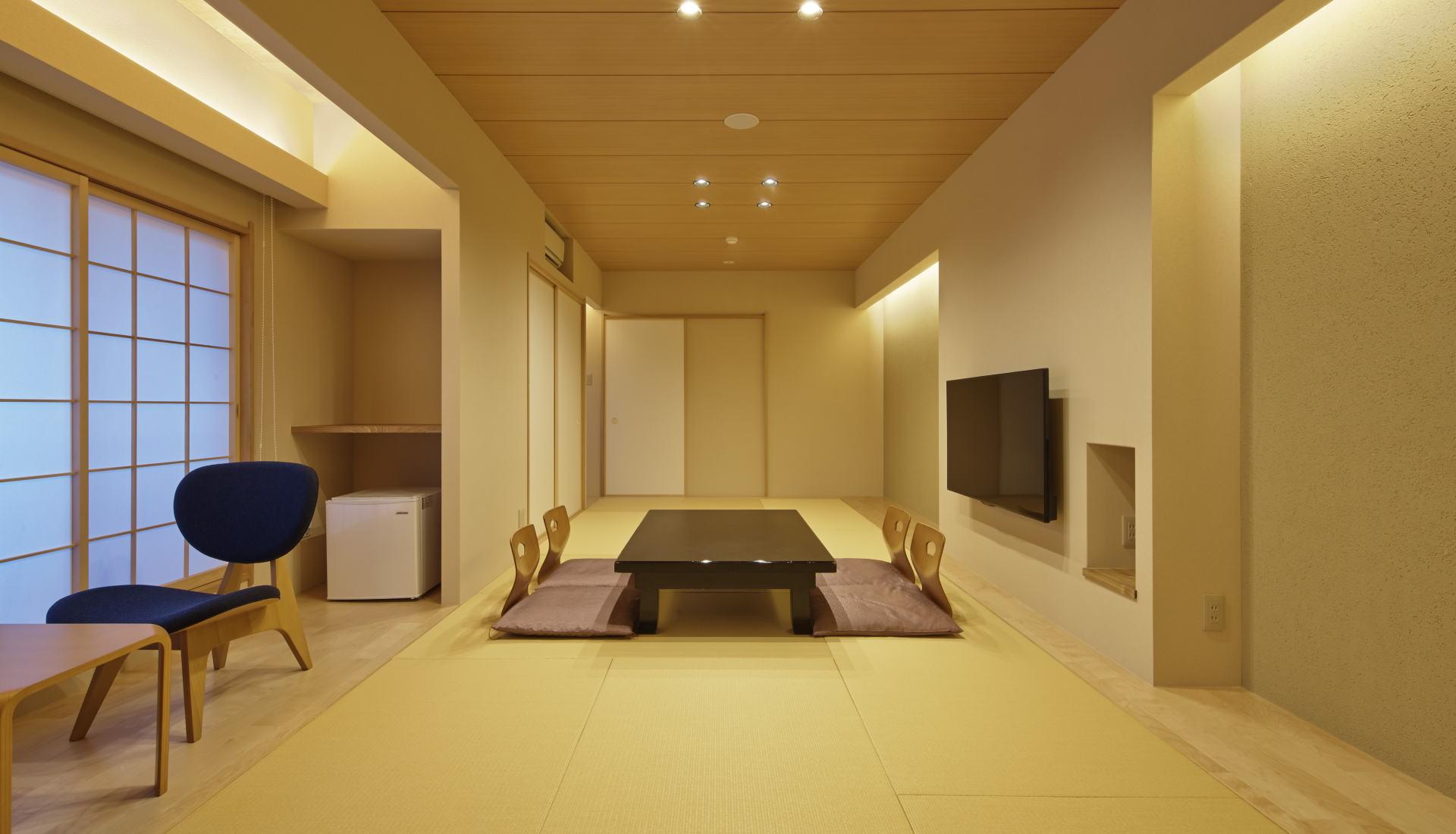 平成29年1月京都 旅館 松栄の本館3・4階をリニューアル