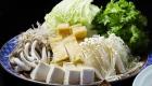 太夫鍋 野菜 / 京都 旅館 松栄